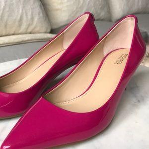 8178f600e04 Michael Kors hot pink kitten heels